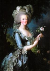 María Antonieta de Austria por Élisabeth Vigée Le Brun en 1783