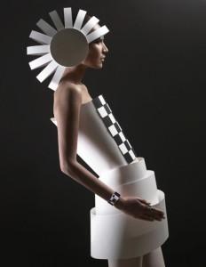 Alexandra Zaharova. Paper Dress.